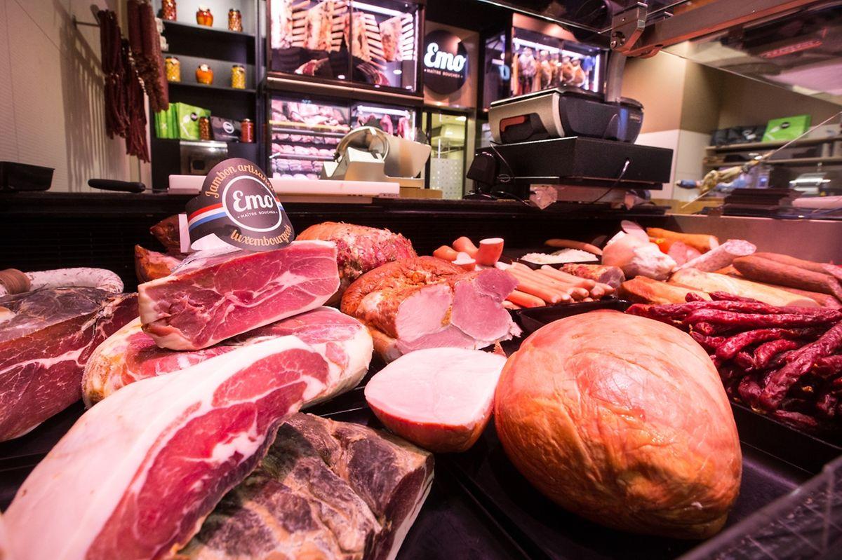 A côté des produits traditionnels, un produit de jambon est préparé par la maison Steffen, des sauces et des plats préparés ont fait leur apparition