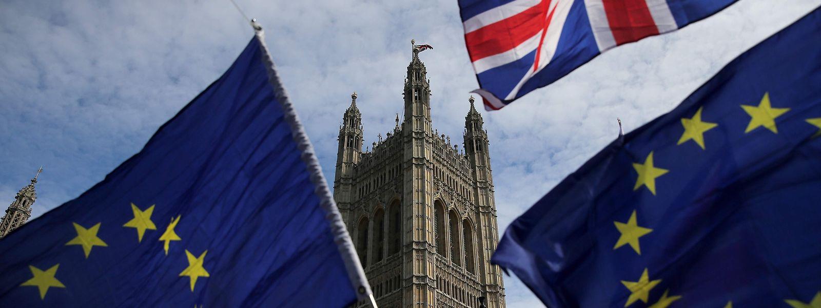 Regierung und Parlament sind sich uneinig in Sachen Brexit.