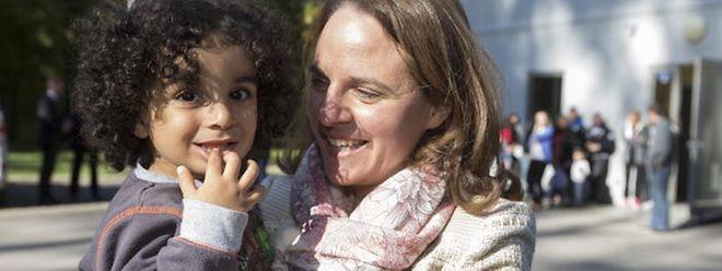 Integrationsministerin Corinne Cahen besuchte in den vergangenen Monaten mehr als ein Flüchtlingsheim und nutzte die Medienaufmerksamkeit, um der Bevölkerung zu verdeutlichen, dass an der Solidarität kein Weg vorbeiführt.