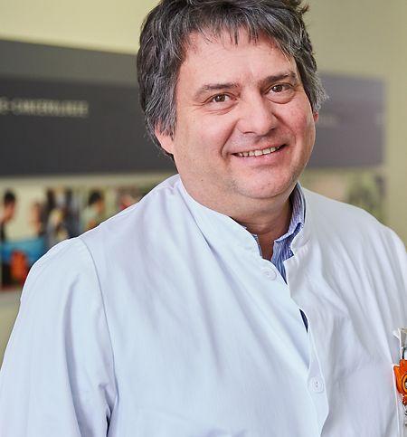 Guy Berchem, Onkologe und Leiter des Projekts am CHL.
