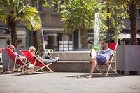 Lokales, Hitze, Sommer, Sonne, Foto: Lex Klern/Luxemburger Wort