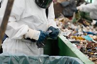 Lokales, Restabfallanalyse, Abfall, Superdreckskescht, Restmüll, Sortieren vom Abfall   Foto: Anouk Antony/Luxemburger Wort