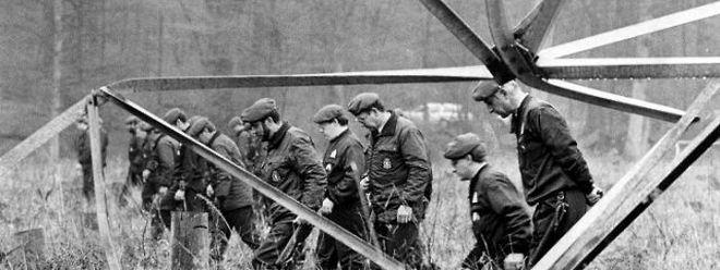 Spurensuche nach dem Attentat am Schléiwenhaff am 7. Mai 1985.