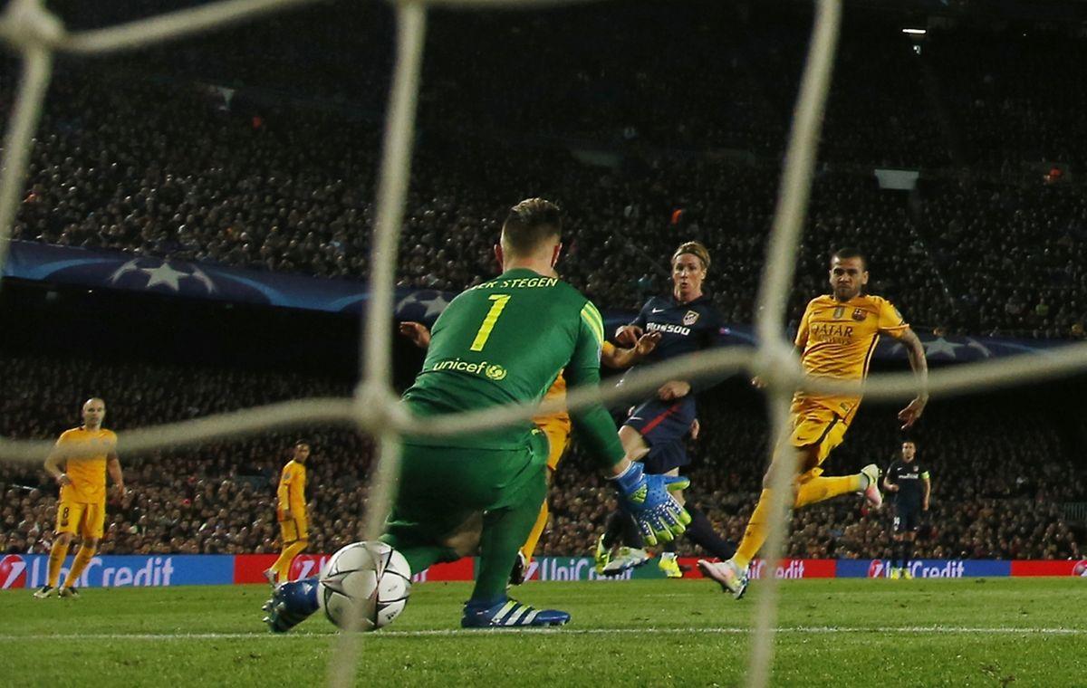 Auteur de l'ouverture du score, Fernando Torres, a aussi pénalisé sa formation en écopant de deux cartons jaunes.