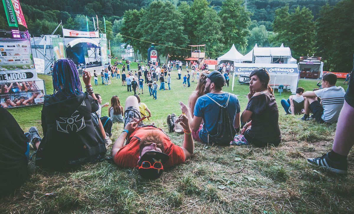 L'esprit camping autour du festival fait partie du charme de l'événement organisé «par les jeunes pour les jeunes».