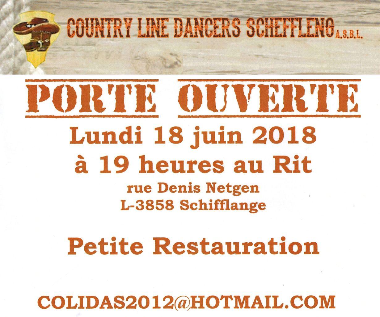 mywort - Porte Ouverte Schëfflënger Country Line Dancers
