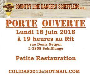 Porte Ouverte Schëfflënger Country Line Dancers