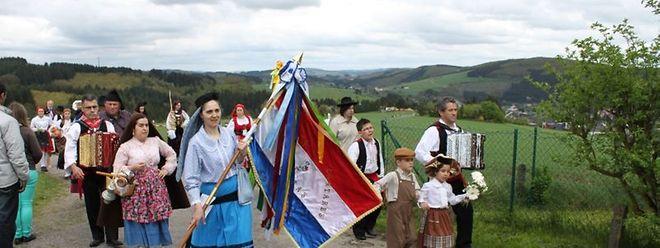 Einwanderer portugiesischer Herkunft bei der traditionellen Fatima-Wallfahrt: Eine Mehrheit der EU-Ausländer möchte auf Dauer in Luxemburg bleiben.