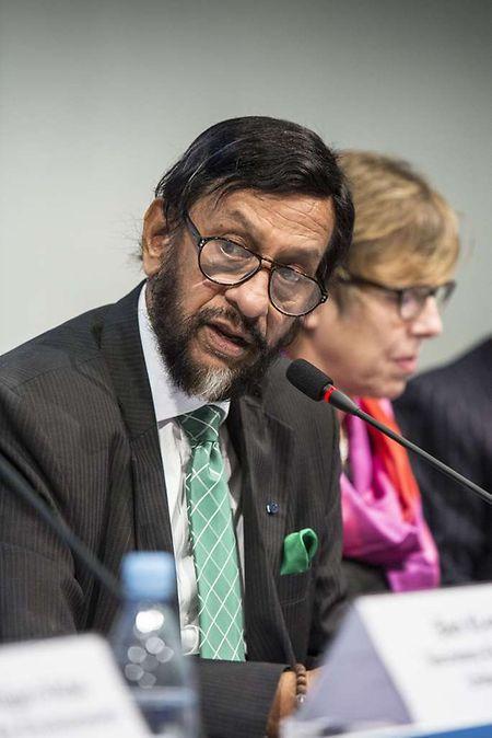 IPCC-Chef  Rajendra Pachauri