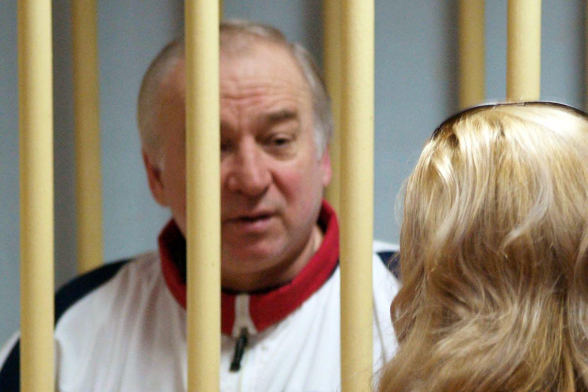 Sergei Skripal im Jahr 2009 in einem russischen Gefängnis.