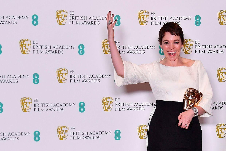 """Pela sua interpretação em """"A Favorita"""", Olivia Colman triunfou na categoria de Melhor Atriz."""
