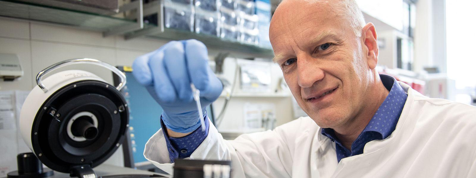 Ulf Dittmer, Leiter des Instituts für Virologie der Universitätsklinik Essen.