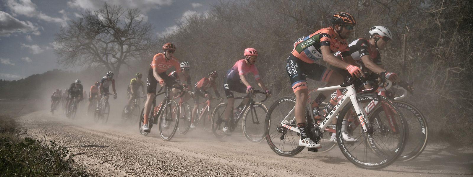 Les Strade Bianche ouvriront la saison World Tour le 1er août
