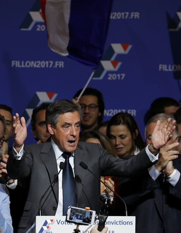 Francois Fillon, former French prime minister and member of Les Republicains political party