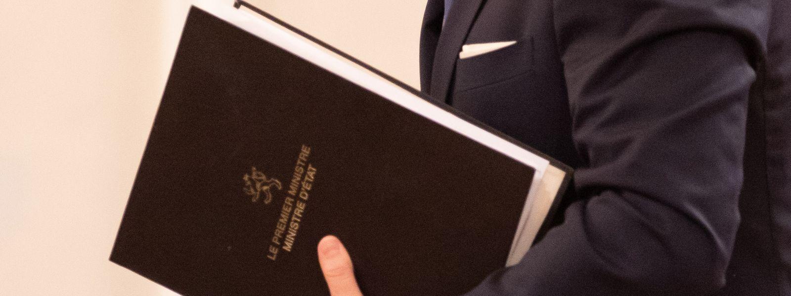 Premierminister Xavier Bettel stellte die Corona-Pandemie erwartungsgemäß in den Mittelpunkt seiner Regierungserklärung.