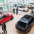 Dieses Jahr interessierten sich die Besucher des Automobilfestivals besonders für umweltfreundlichere Automodelle.