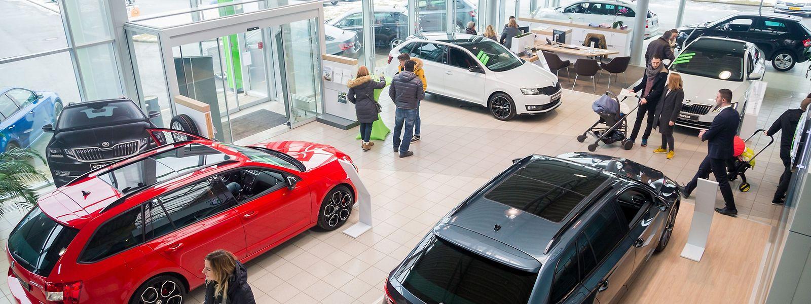 Les visiteurs de l'Autofestival ont montré un intérêt plus marqué pour les véhicules respectueux de l'environnement.