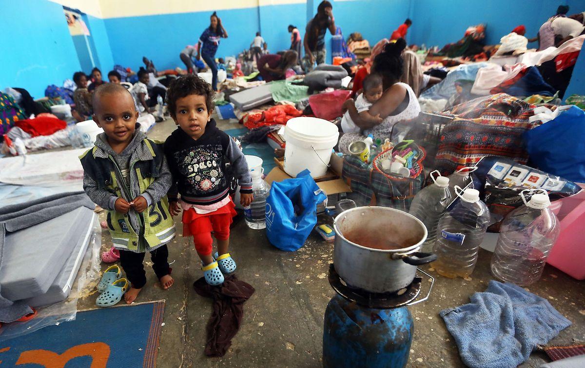 Die Zustände in libyschen Flüchtlingslagern sind katastrophal.