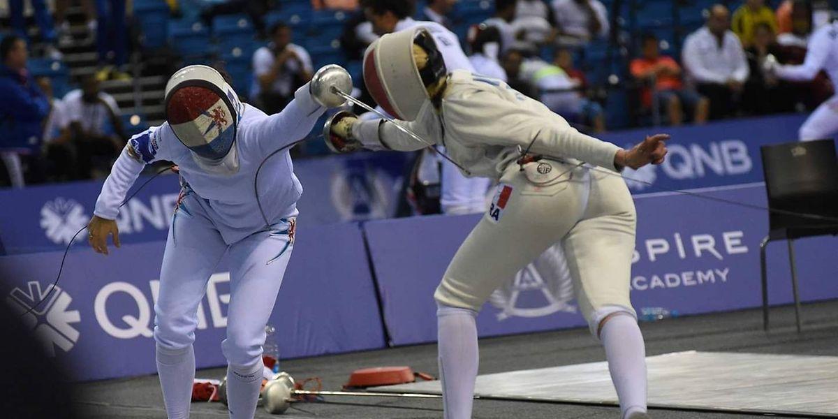 Lis Fautsch (l.) hat bei der WM gezeigt, dass sie realistische Chancen auf eine Olympia-Teilnahme hat.