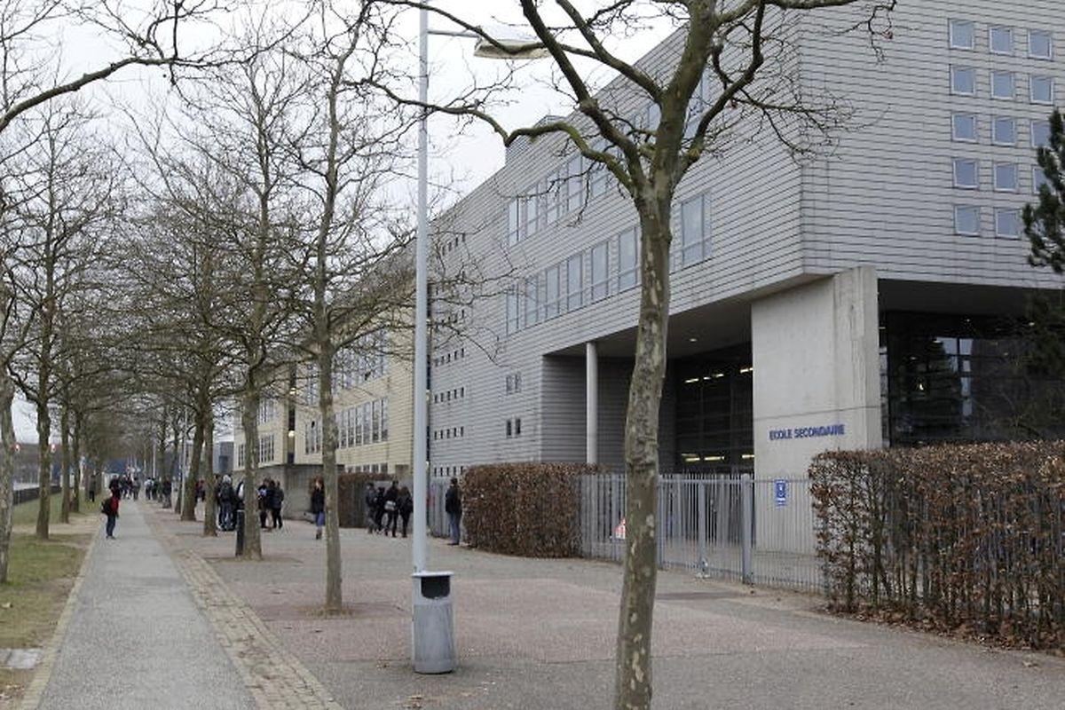 Au Kirchberg, l'Ecole européenne I, un élève sur quatre suit les cours en langue française.