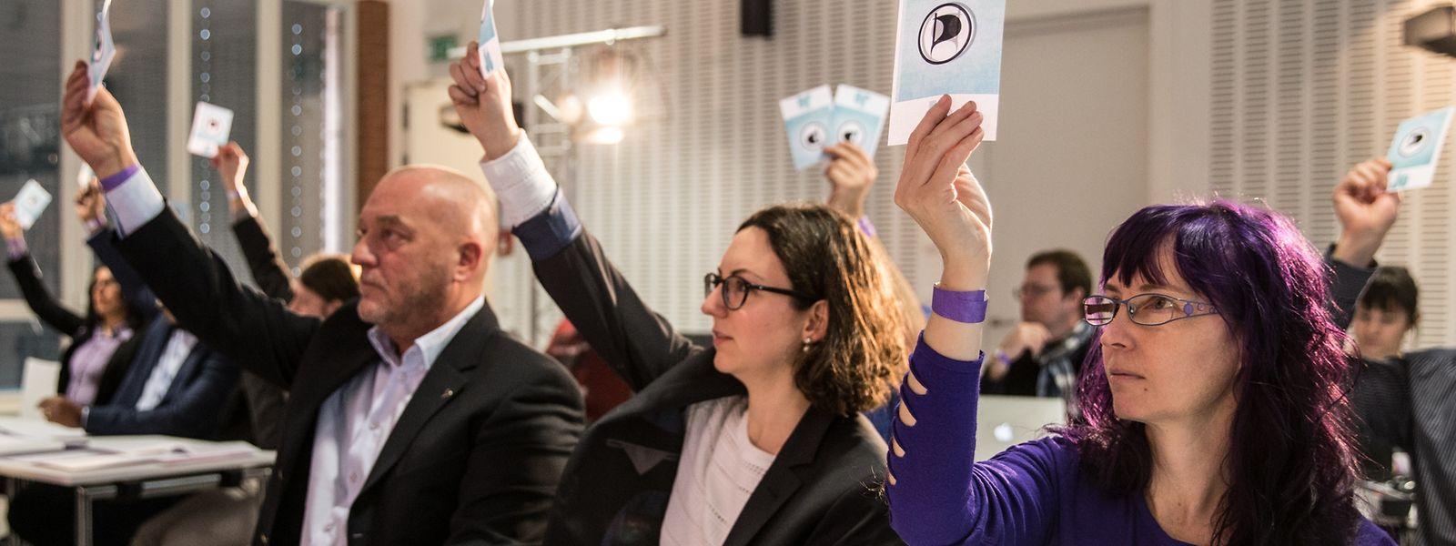 IPO, Landeskongress Piraten.Foto: Gerry Huberty/Luxemburger Wort