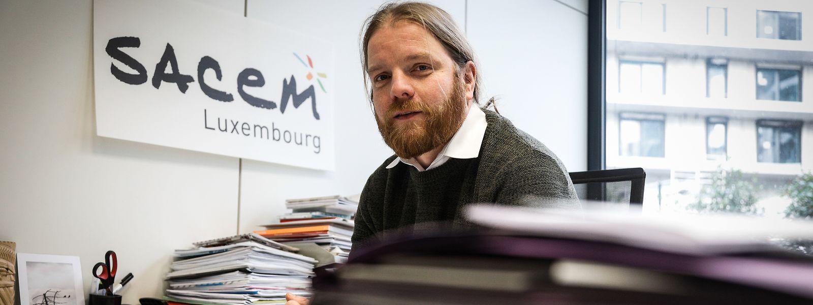 Marc Nickts steht der Sacem Luxemburg als Geschäftsführer vor.