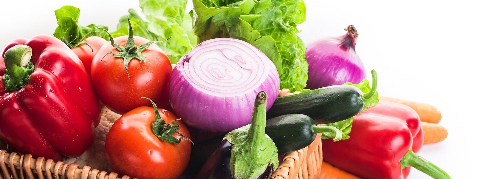 Bio-Gemüse und Obst werden bisher größtenteils aus dem Ausland importiert. Dies soll sich ändern.