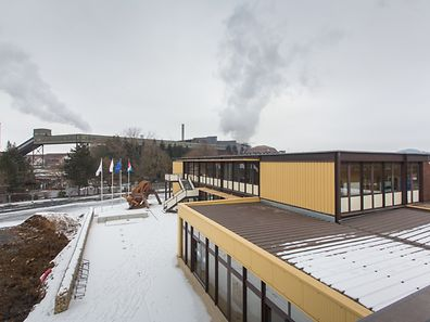 Suivi Arbeiten Science Center Differdange, Foto Lex Kleren