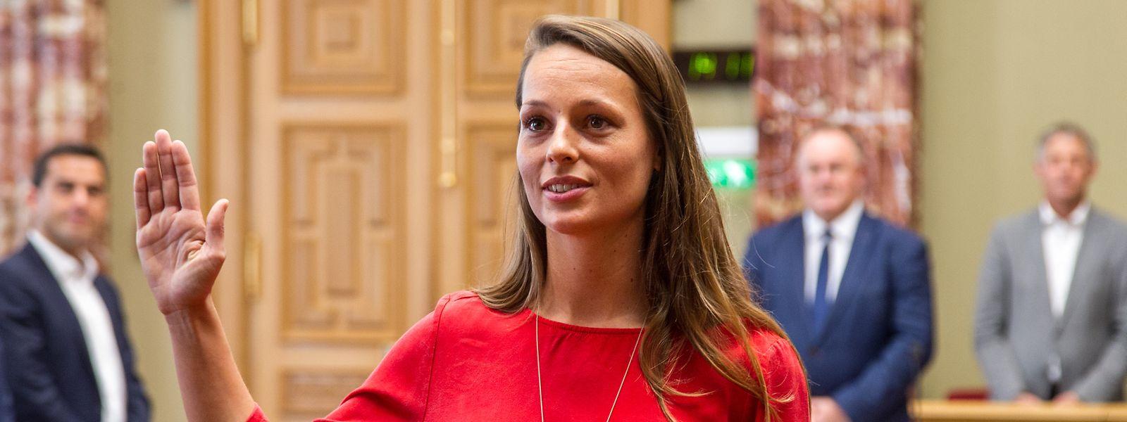 Chantal Gary est la nouvelle députée de Déi Gréng.