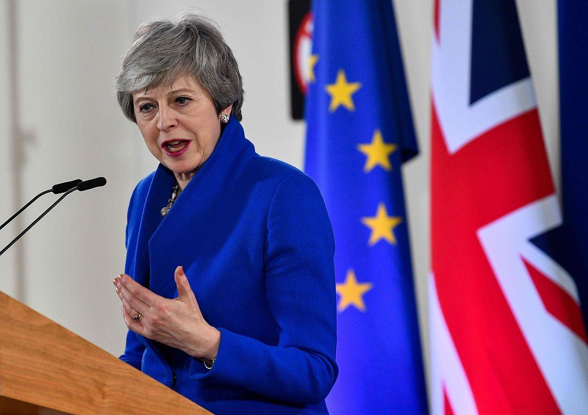 Theresa May a accepté un report du Brexit au 31 octobre prochain au plus tard.
