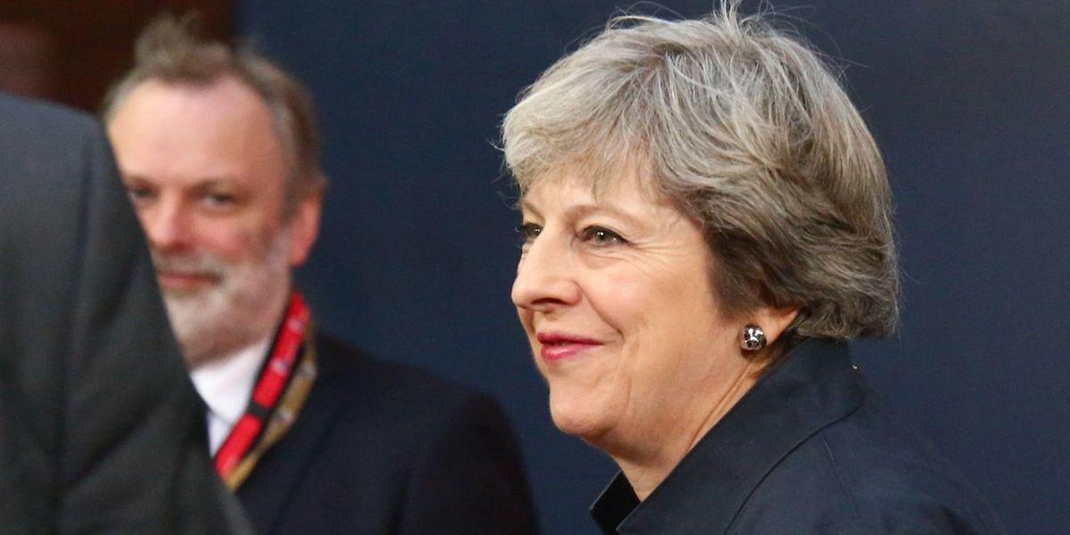 Die britische Premierministerin Theresa May warb bei dem Gipfeltreffen mit den übrigen Staats- und Regierungschefs noch einmal für ihre Position und forderte Entgegenkommen.