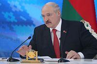 Der belarussische Langzeitpräsident Alexander Lukaschenko ist international umstritten.
