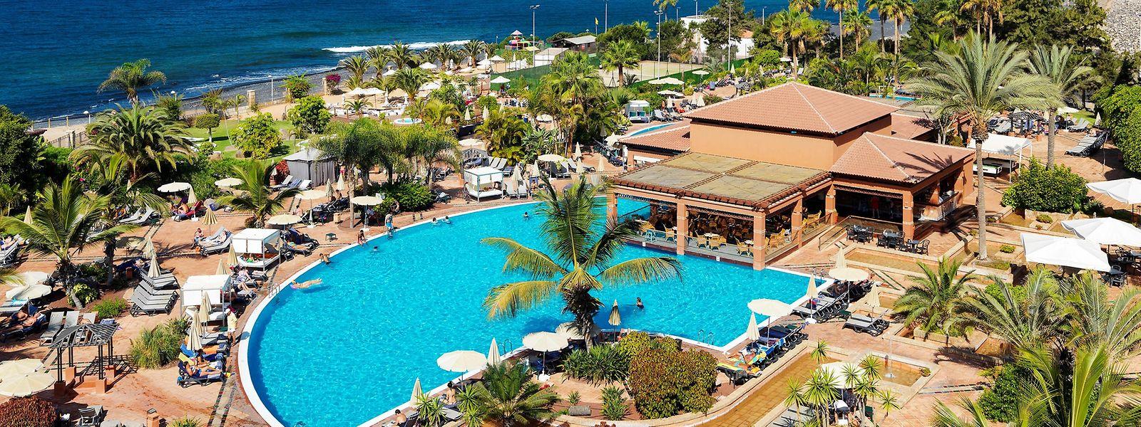 Près d'un millier de personnes sont actuellement isolées dans l'hôtel H10 Costa Adeje Palace
