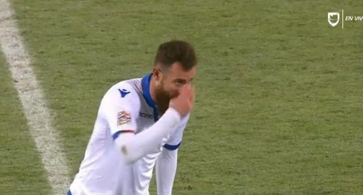 Aleksandr Karapetian a marqué un nouveau but pour l'Arménie mais sa sélection n'a pu faire mieux que match nul au Liechtenstein.