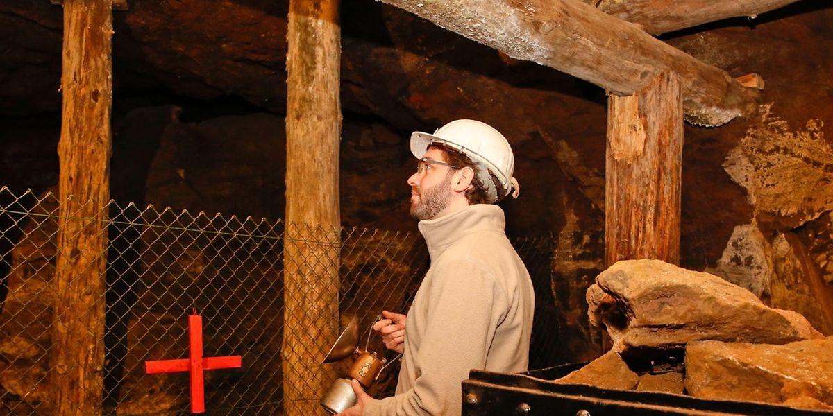Denis Klein ist als Historiker Experte für Grubenwesen und bringt sich ehrenamtlich in das Nationale Grubenmuseum mit ein.
