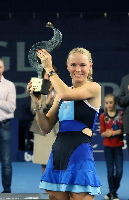 2013 gewann Caroline Wozniacki die BGL BNP Paribas Luxembourg Open in Kockelscheuer.