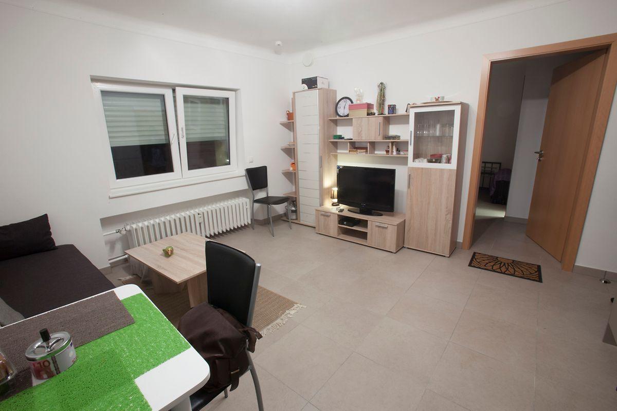 Zwei Wohnungen und ein Studio stehen den drei Einwohnern der neuen Struktur zur Verfügung.