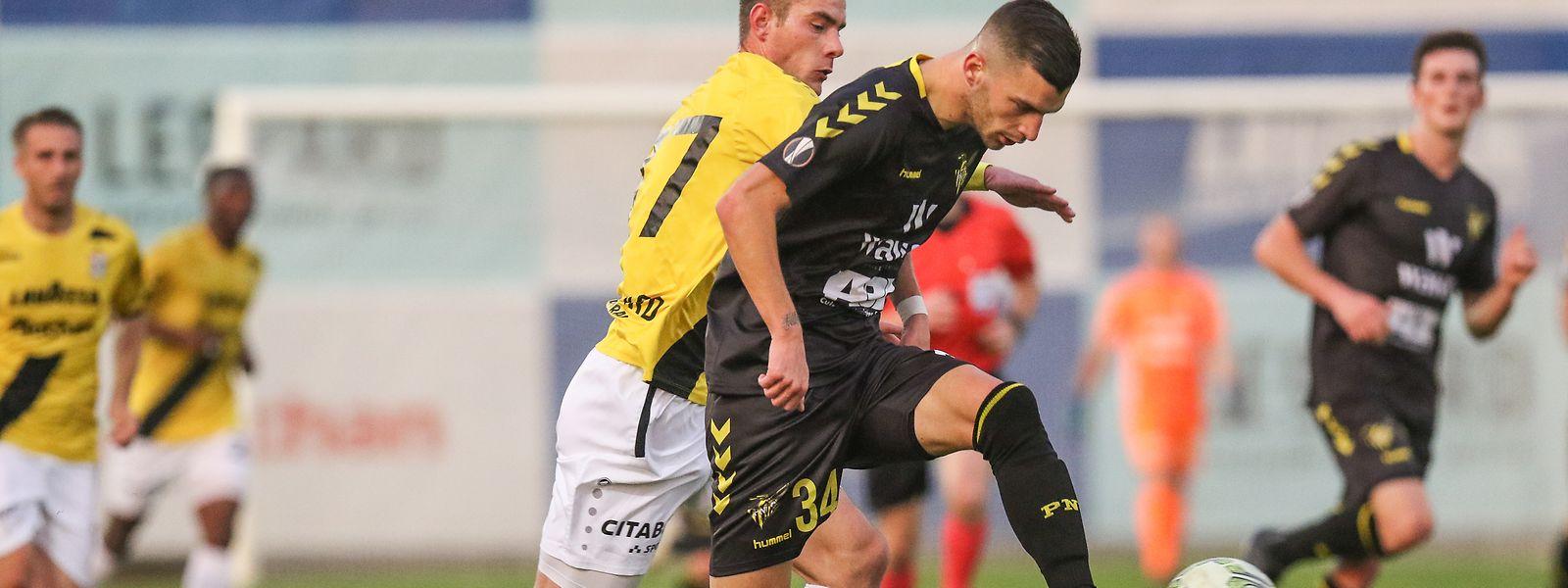 Niderkorn e F91 Dudelange vão disputar um dos principais jogos da 21a jornada.