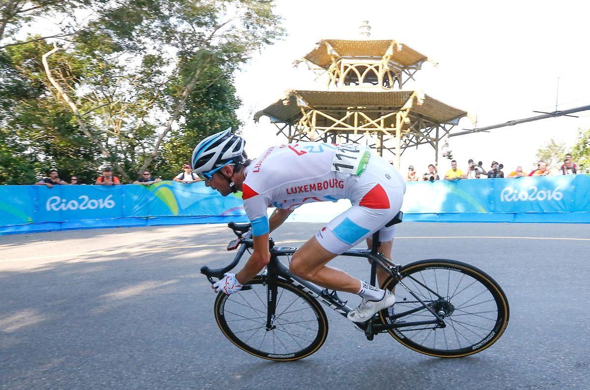 In Rio de Janeiro radelte Fränk Schleck auf den 20. Platz.