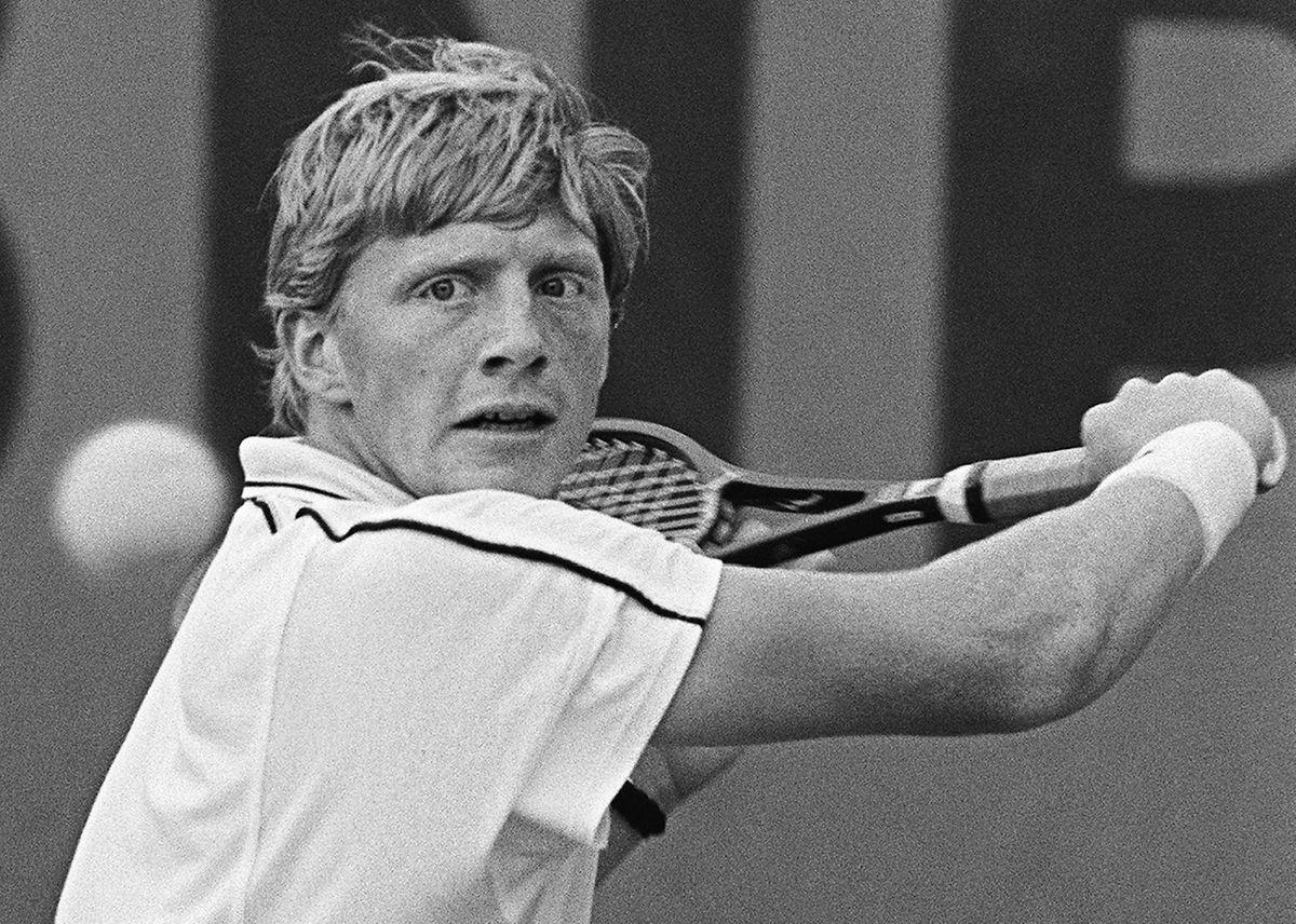 Boris Becker, c'est 49 titres sur le circuit ATP, dont six en Grand Chelem