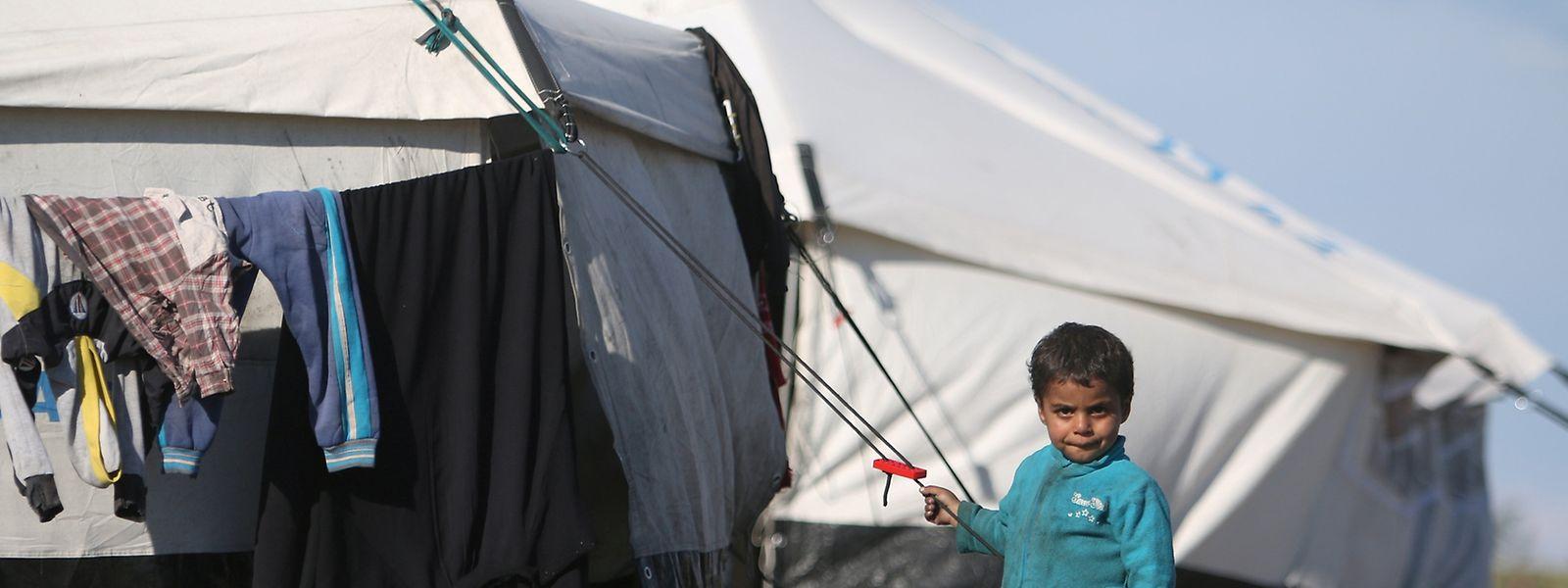 Beispiel Syrien: Flüchtlingslager als letzter Strohhalm, an den sich die Menschen klammern.