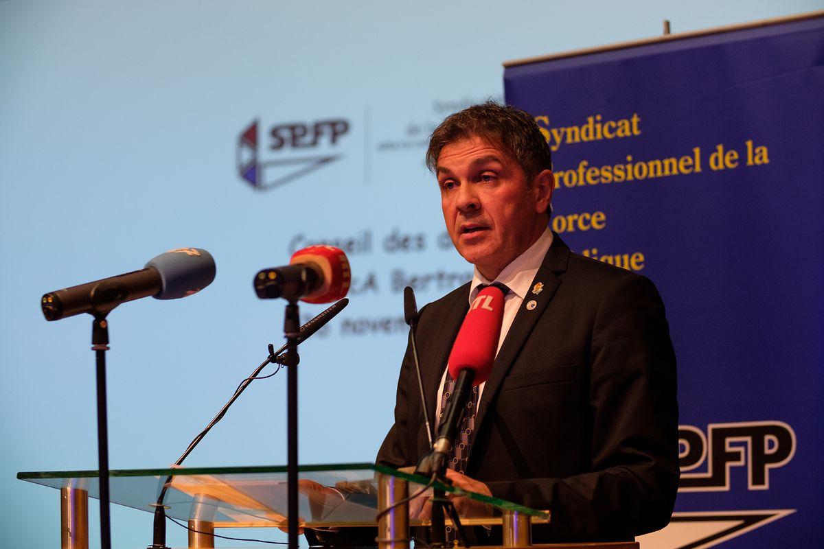 Pascal Ricquier ist sowohl Präsident der Gewerkschaft der öffentlichen SPFP als auch der Polizeigewerkschaft SPFP.