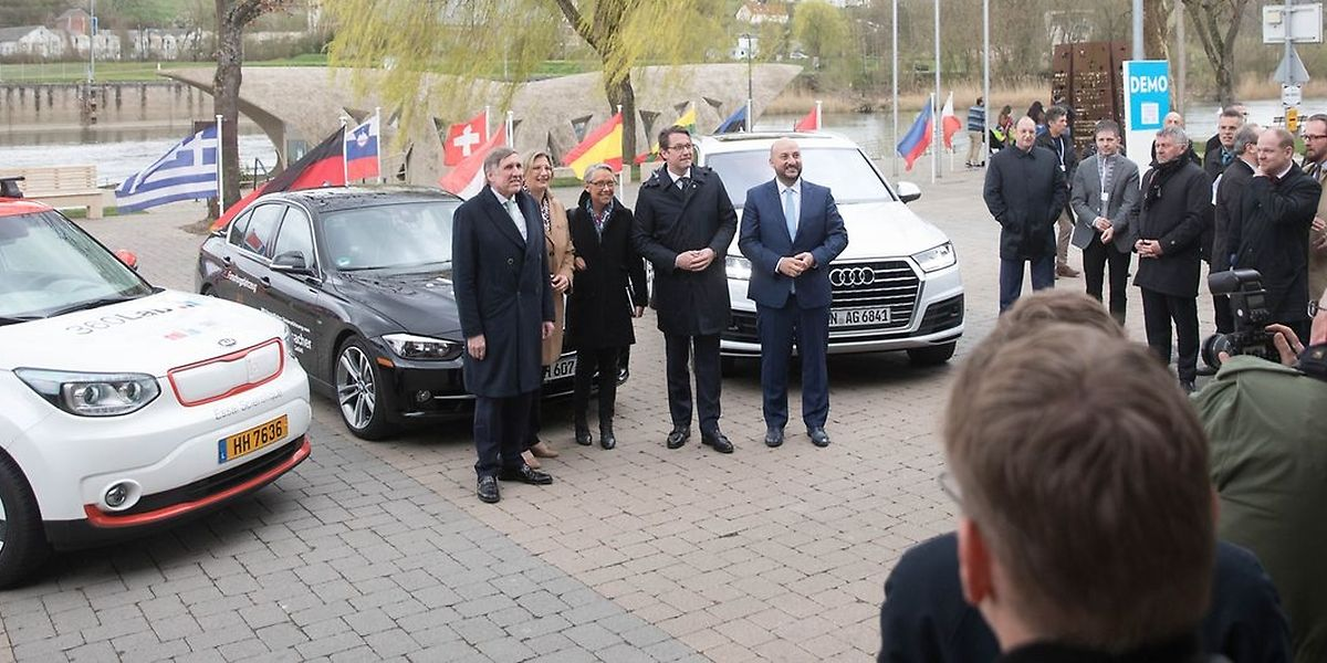 Le premier «site expérimental transfrontalier» européen a été officialisé mercredi à Schengen en présence de cinq ministres français, allemands et luxembourgeois.
