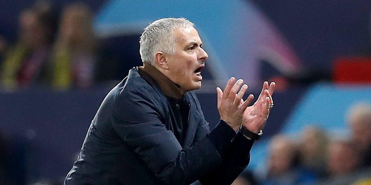 José Mourinho ist nach dem 1:0 für Manchester United mal so richtig ausgerastet.