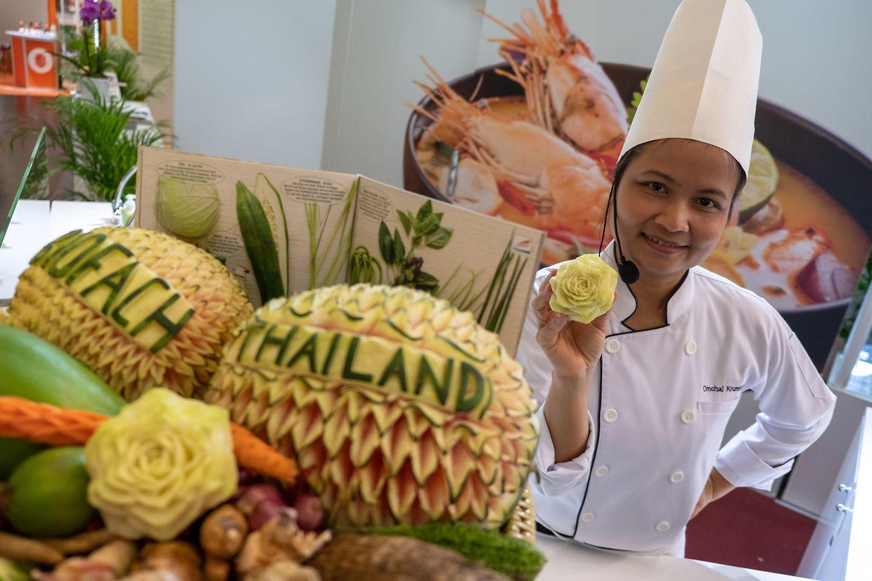 Als offizielles Gastland der diesjährigen Biofachmesse präsentiert sich Thailand.
