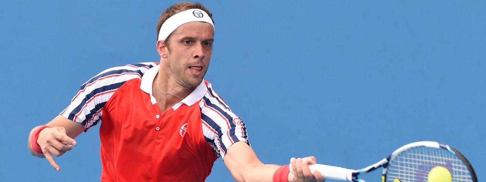 Gilles Muller steht in der dritten Runde der Australian Open.