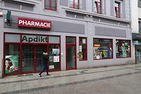 Apotheke Bouchard in Esch geschlossen / Foto: Luc EWEN