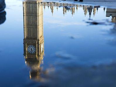 Der Big Ben am Dienstag in London: Die Zukunft Großbritanniens wird nach Theresa Mays Rede klarer.