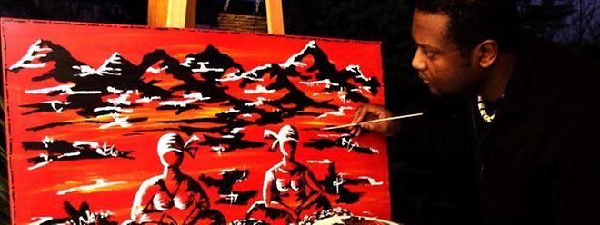 As telas de Nelson Neves são marcadas pelas cores vivas