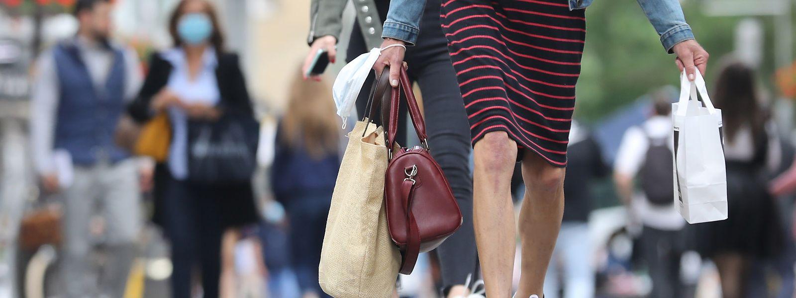 Les ventes en textile, habillement et chaussures ont explosé entre les mois d'avril et mai 2020.